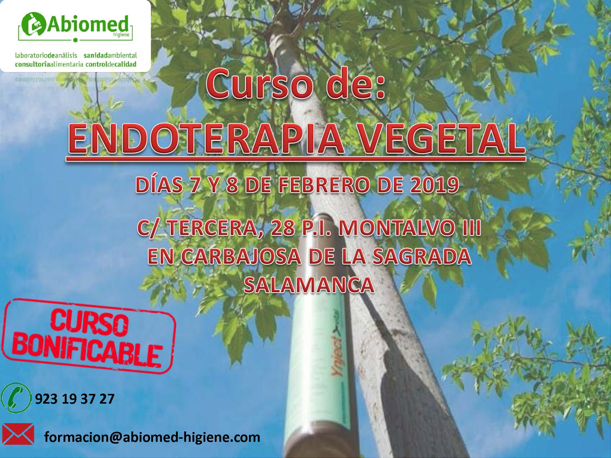 CURSO DE ENDOTERAPIA VEGETAL – 2